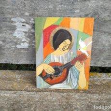 Arte: PINTURA PAN DE ORO. Lote 118485107
