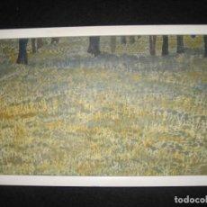 Arte: OLEO LA PRIMAVERA EN EL CAMPO. Lote 200587560