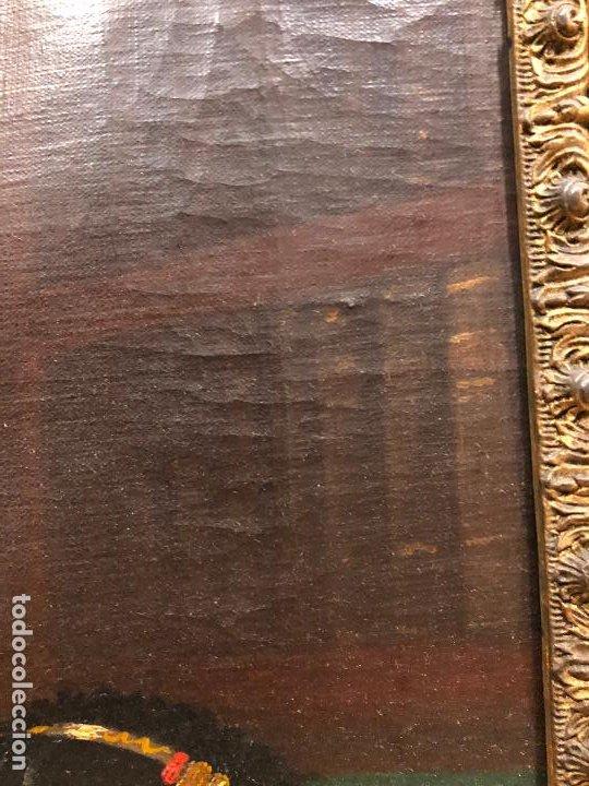Arte: Retrato de militar o embajador, tela: 57x78 cm. Marco: 78x100 cm. Siglo XIX. España, ver fotos. - Foto 6 - 148769722
