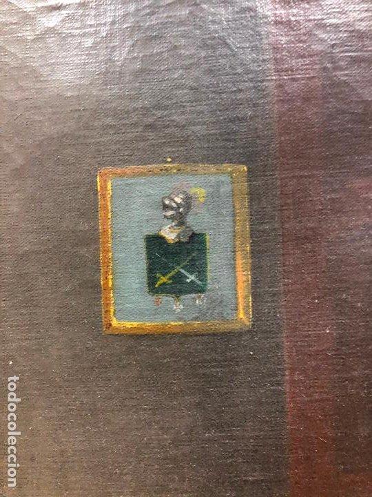 Arte: Retrato de militar o embajador, tela: 57x78 cm. Marco: 78x100 cm. Siglo XIX. España, ver fotos. - Foto 8 - 148769722