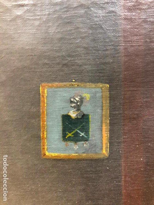 Arte: Retrato de militar o embajador, tela: 57x78 cm. Marco: 78x100 cm. Siglo XIX. España, ver fotos. - Foto 9 - 148769722