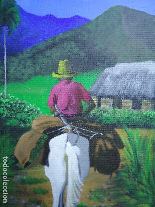 Arte: PRECIOSO ÓLEO LIENZO DE LEO BAUZÁ MIDE 65 X 55 cm. BELLOS COLORES MUY BUENA MANO VER FOTOS - Foto 2 - 200646788
