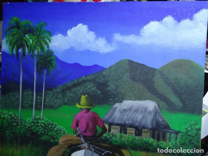 Arte: PRECIOSO ÓLEO LIENZO DE LEO BAUZÁ MIDE 65 X 55 cm. BELLOS COLORES MUY BUENA MANO VER FOTOS - Foto 3 - 200646788