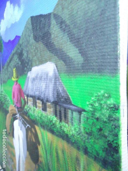 Arte: PRECIOSO ÓLEO LIENZO DE LEO BAUZÁ MIDE 65 X 55 cm. BELLOS COLORES MUY BUENA MANO VER FOTOS - Foto 6 - 200646788
