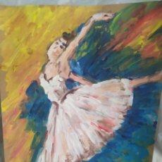 Arte: BAILARINA(ORIGINAL). Lote 200647738