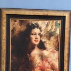 Arte: MARIO POBBIATI (1887-1956) DAMINA. FIRMADO. Lote 200759395
