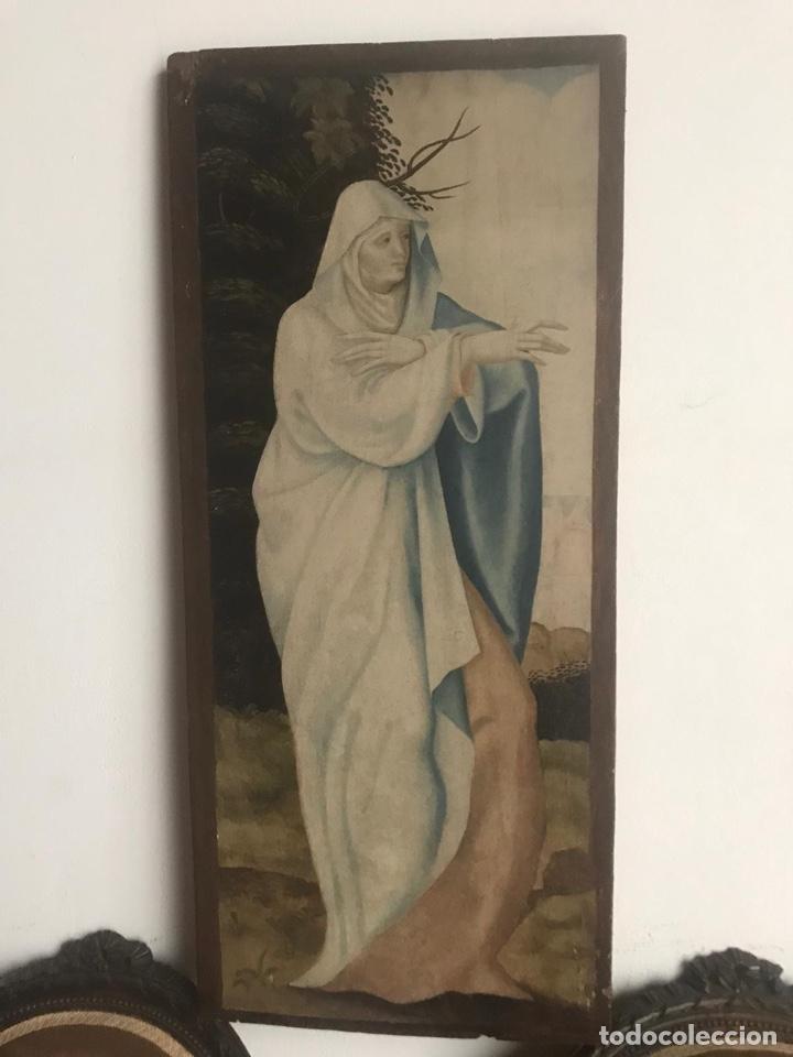 TABLA PP. S. XVI - ¿PSEUDO-BRAMANTINO - PEDRO FERNANDEZ DE MURCIA? (Arte - Pintura - Pintura al Óleo Antigua siglo XVI)