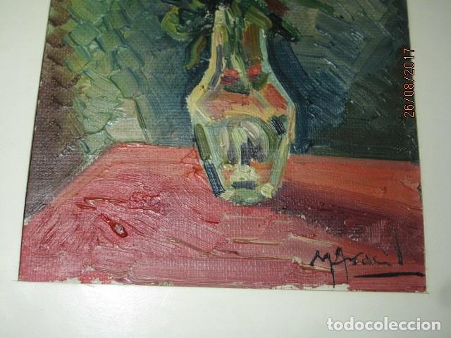Arte: ANTIGUA PINTURA OLEO ORIGINAL MELCHOR ARACIL GALLEGO 1906 -.1966 ALICANTE compañero de gaston cas - Foto 3 - 200858037