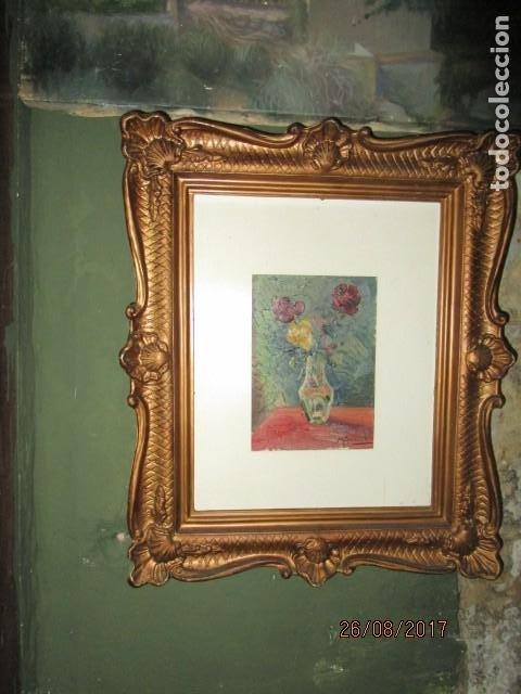 Arte: ANTIGUA PINTURA OLEO ORIGINAL MELCHOR ARACIL GALLEGO 1906 -.1966 ALICANTE compañero de gaston cas - Foto 2 - 200858037