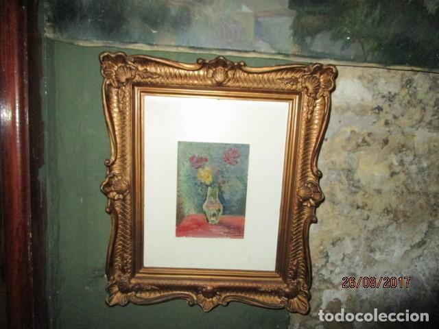 ANTIGUA PINTURA OLEO ORIGINAL MELCHOR ARACIL GALLEGO 1906 -.1966 ALICANTE COMPAÑERO DE GASTON CAS (Arte - Pintura - Pintura al Óleo Moderna siglo XIX)