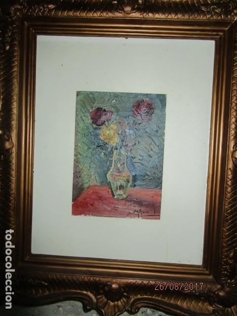 Arte: ANTIGUA PINTURA OLEO ORIGINAL MELCHOR ARACIL GALLEGO 1906 -.1966 ALICANTE compañero de gaston cas - Foto 6 - 200858037