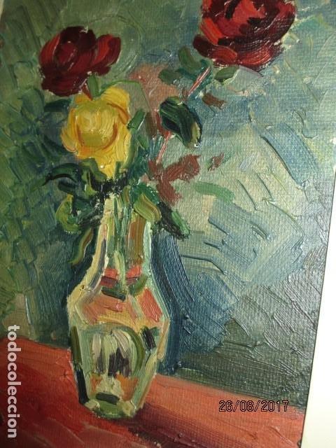 Arte: ANTIGUA PINTURA OLEO ORIGINAL MELCHOR ARACIL GALLEGO 1906 -.1966 ALICANTE compañero de gaston cas - Foto 8 - 200858037