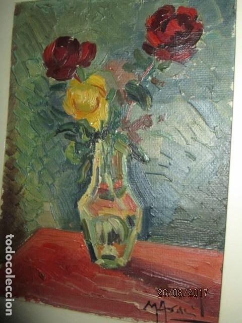 Arte: ANTIGUA PINTURA OLEO ORIGINAL MELCHOR ARACIL GALLEGO 1906 -.1966 ALICANTE compañero de gaston cas - Foto 9 - 200858037