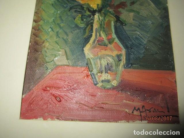 Arte: ANTIGUA PINTURA OLEO ORIGINAL MELCHOR ARACIL GALLEGO 1906 -.1966 ALICANTE compañero de gaston cas - Foto 11 - 200858037