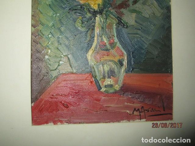 Arte: ANTIGUA PINTURA OLEO ORIGINAL MELCHOR ARACIL GALLEGO 1906 -.1966 ALICANTE compañero de gaston cas - Foto 12 - 200858037