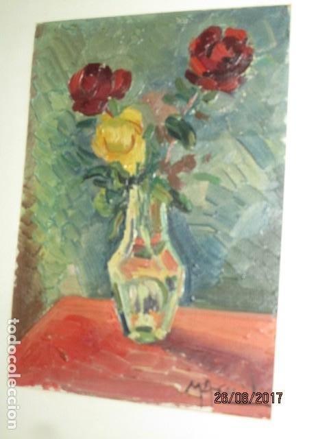 Arte: ANTIGUA PINTURA OLEO ORIGINAL MELCHOR ARACIL GALLEGO 1906 -.1966 ALICANTE compañero de gaston cas - Foto 14 - 200858037