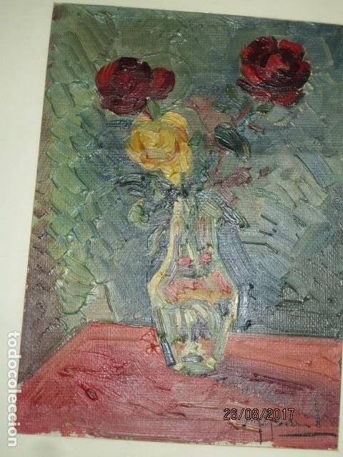 Arte: ANTIGUA PINTURA OLEO ORIGINAL MELCHOR ARACIL GALLEGO 1906 -.1966 ALICANTE compañero de gaston cas - Foto 15 - 200858037