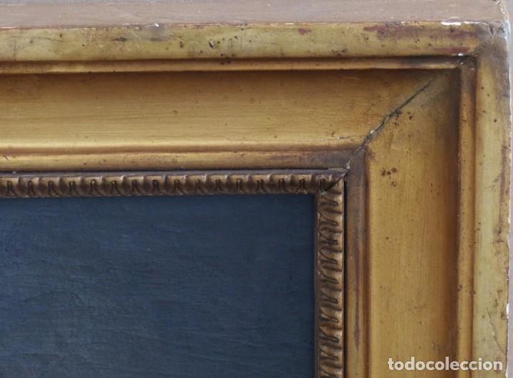 Arte: BODEGÓN DE GRANADAS Y FLORES - SIGLO XVIII - 41 X 53 CM - GRAN CALIDAD. - Foto 9 - 201140586