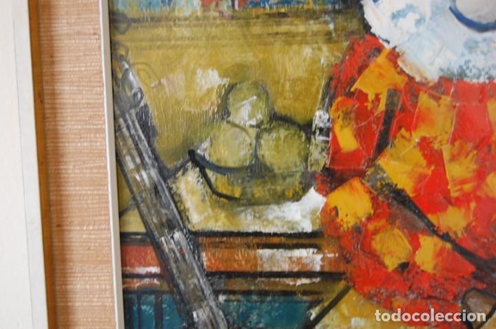 Arte: JORDI BONÁS ( *1937, Barcelona ) - ARLEQUINES: PINTURA EXPRESIONISTA - Foto 8 - 201294242