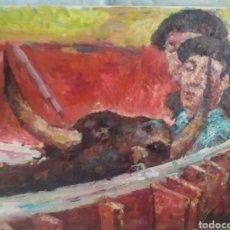 Art: CUADRO TAURINO (ORIGINAL). Lote 201299890