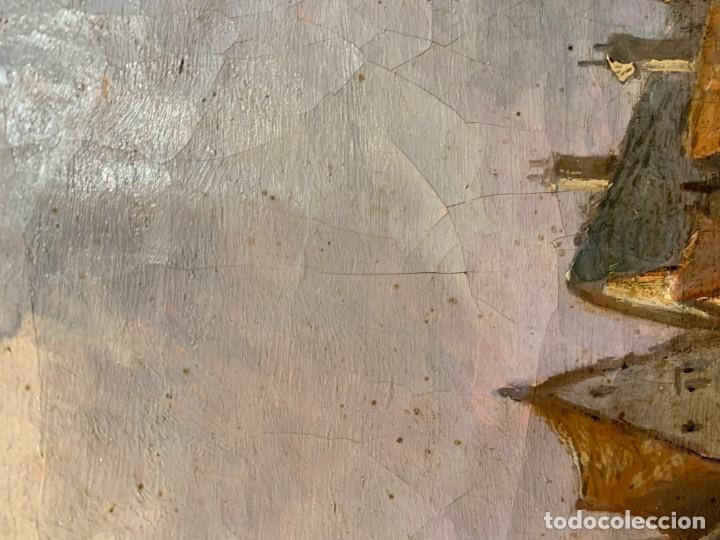 Arte: MAGNIFICA VISTA DE UNA CIUDAD FLAMENCA - Foto 7 - 201304376