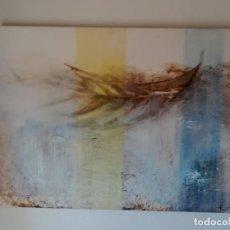 Arte: CALA BLANCA, ÓLEO SOBRE LIENZO DE PILAR VIVIENTE (MADRID 1958) - 130 X 97 CM - FIRMADO 1999. Lote 201316453