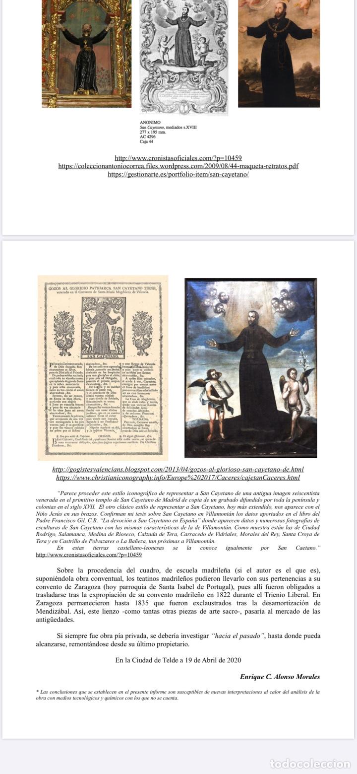 Arte: LA GLORIFICACIÓN DE SAN CAYETANO de Diego López, el Mudo discípulo oficial de Juan Carreño. - Foto 13 - 195056710