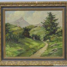 Arte: PAISAJE. OLEO S/ LIENZO. EMILI BOSCH ROGER (1894 -1980). Lote 201359051