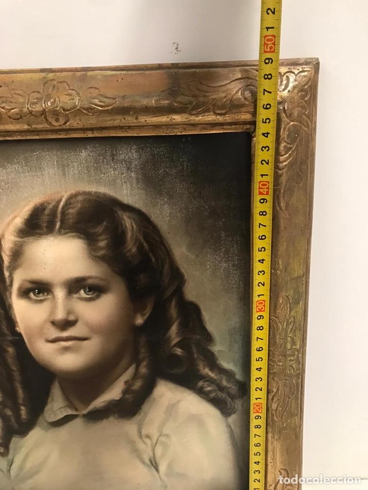 Arte: Óleo retrato antiguo firmado - Foto 3 - 201486588