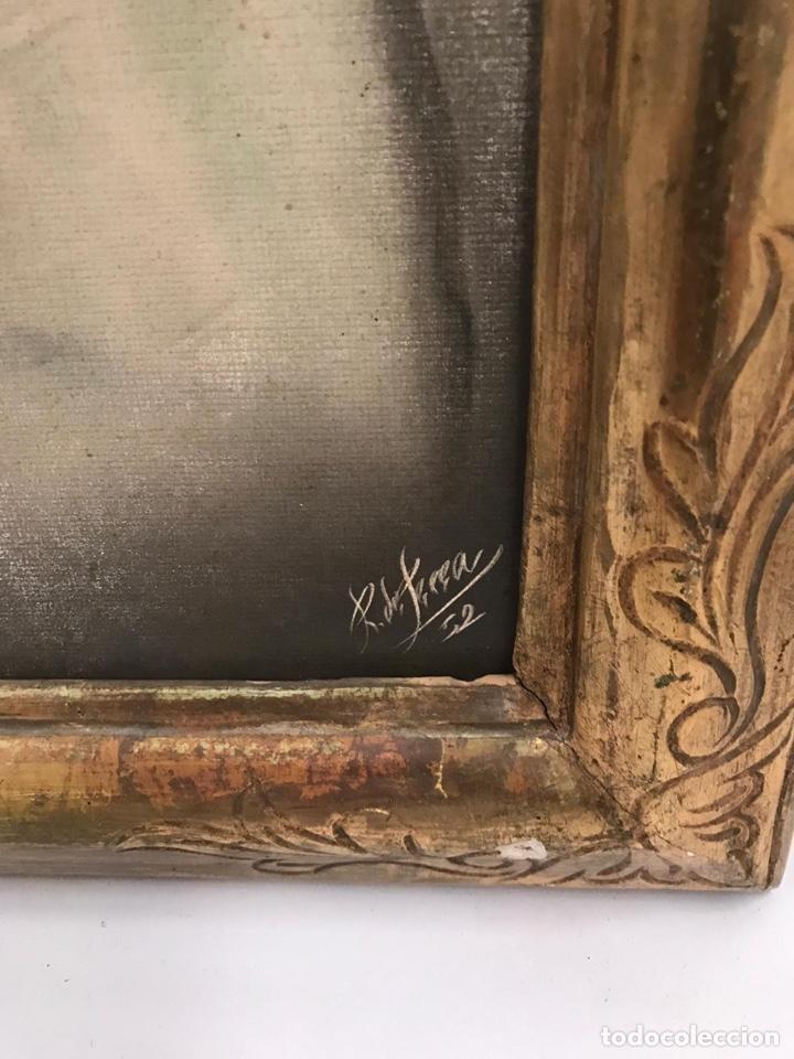 Arte: Óleo retrato antiguo firmado - Foto 6 - 201486588