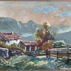 Arte: GIANNI GIANELLA (CHIASSO, 1930-2005). PAISAJE DE MONTAÑA. ÓLEO SOBRE LIENZO. FIRMADO.. Lote 96776647
