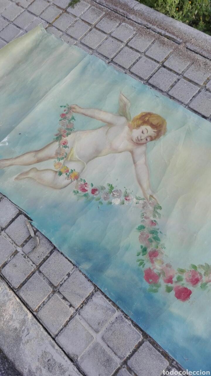 Arte: Óleo sobre lienzo de Ángeles 4500 cm x 70 cm aproximada - Foto 5 - 201671568