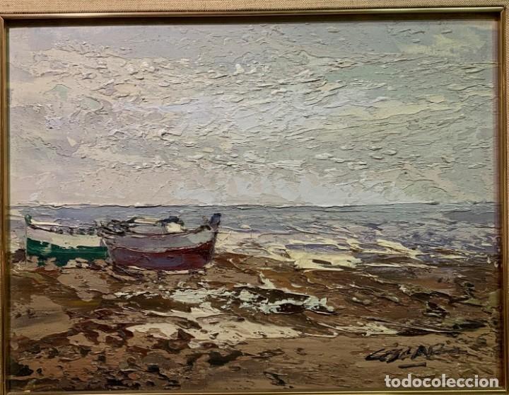 JOSÉ COZAR, ÓLEO SOBRE LIENZO. (Arte - Pintura - Pintura al Óleo Contemporánea )