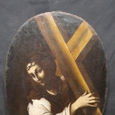 Arte: CRISTO CON CRUZ S.XVI. Lote 201922102