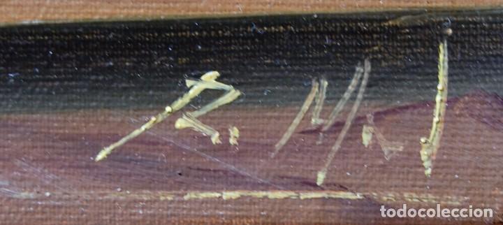 Arte: Roberto Michel - Jaén 1.944 - NATURALEZA MUERTA - Óleo - Enmarcado - Foto 9 - 201973410