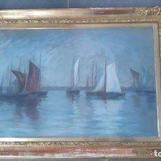 Arte: PASTEL FIRMADO CON BONITO MARCO,PINTOR IMPRESIONISTA SUECO IGEBORG WESTFELT-EGGERTZ 1855-1936. Lote 202075212