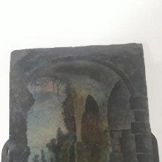 Arte: PINTURA SOBRE ESMALTE SIGLO XVIII,ESMALTE SOBRE COBRE. Lote 202261655