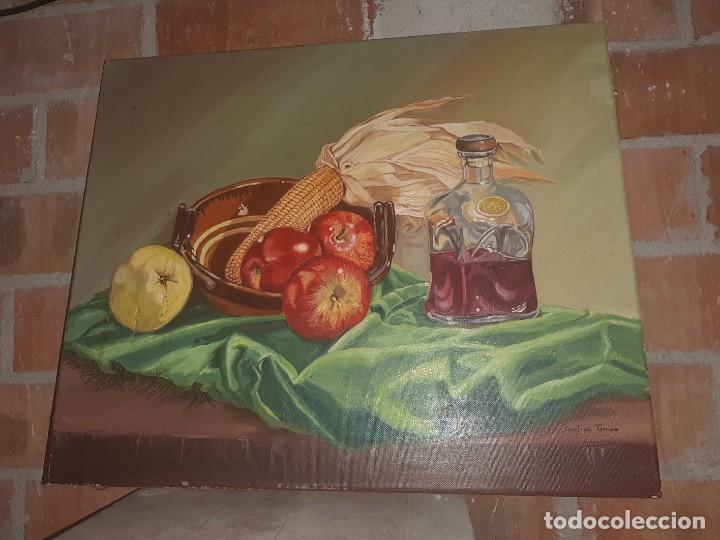 OLEO BODEGÓN (Arte - Pintura - Pintura al Óleo Antigua sin fecha definida)