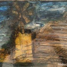 Arte: MARISOL CATALÁ-ÓLEO Y TÉCNICA MIXTA SOBRE CARTÓN.. Lote 202304920