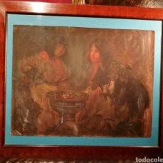 Arte: GITANAS POR RICARD CANALS (1876-1931). Lote 202308943