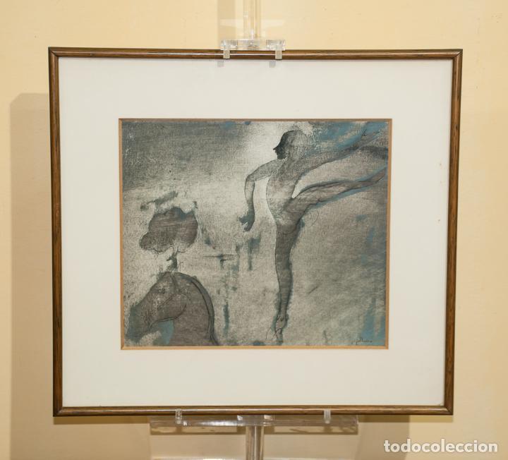 PINTURA, CUADRO DE RAMÓN PUJOL BOIRA, TECNICA MIXTA (Arte - Pintura - Pintura al Óleo Contemporánea )