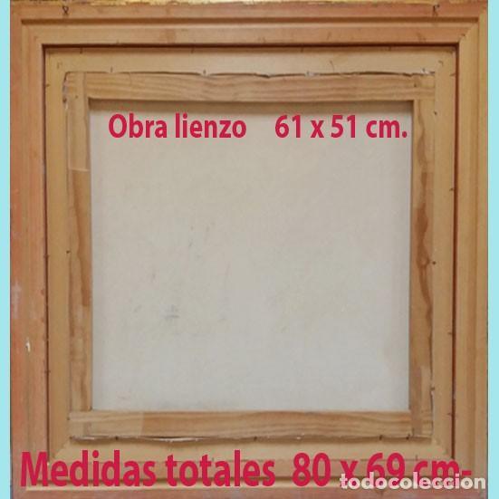 Arte: MAGNIFICA OBRA DE OLEO S/ LIENZO -PARIS Y NOTRE DAME- EXPRESIONISTA. 61 X 51 CM.PAPARTOUS.ENMARCADO - Foto 3 - 202545106