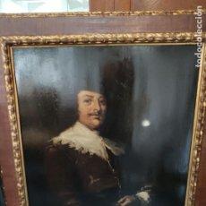 Arte: ÓLEO SOBRE TABLA RETRATO HOLANDÉS S.XVIII. Lote 202545602