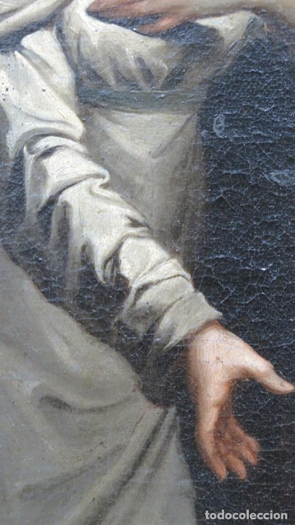 Arte: INTERSANTE ESCENA TENEBRISTA DE INTERIOR. OLEO S/ LIENZO. SIGLO XVII-XVIII - Foto 2 - 202842731