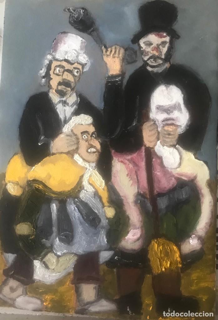 FESTA SARDINA SERIE (4) (Arte - Pintura Directa del Autor)