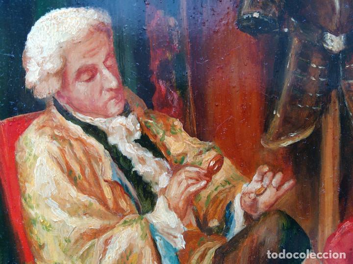 """Arte: CUADRO AL OLEO """"EL COLECCIONISTA"""" - Foto 4 - 202988191"""