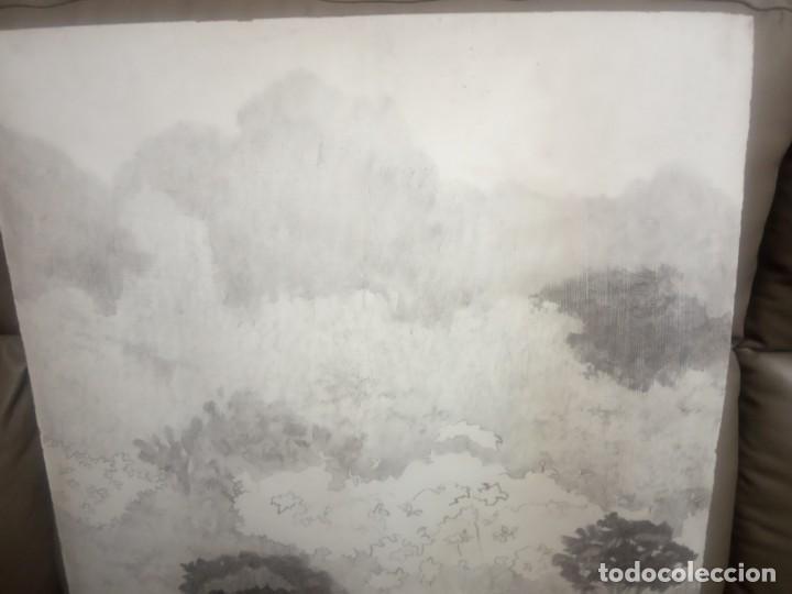 Arte: OLEO SOBRE TABLERO ARBOLES Y PLANTAS - Foto 4 - 203143240