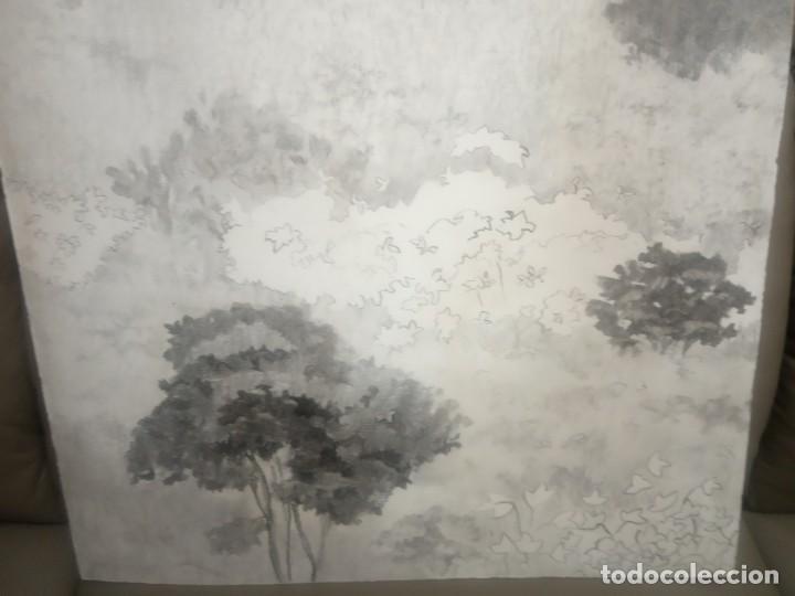 Arte: OLEO SOBRE TABLERO ARBOLES Y PLANTAS - Foto 5 - 203143240