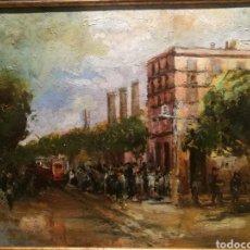Arte: EL PARALELO POR JULI VALLMITJANA (1873-1937). Lote 203274627