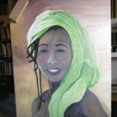 Arte: BLACK LADY, GENIAL OBRA DE UWE OMMER. Lote 199666055